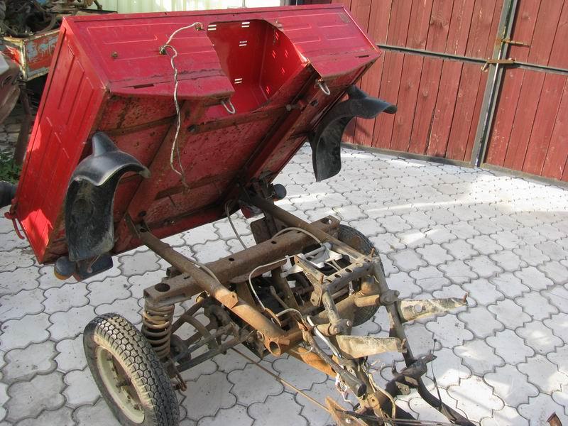 Как сделать самосвальный кузов на мотороллер муравей